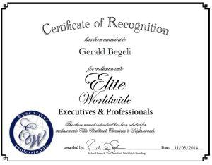 Gerald Begeli