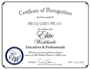 Benjamin Pean