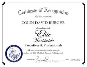 Colin Burger
