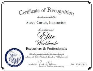Steve Carter, Instructor