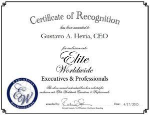 Gustavo A. Hevia, CEO