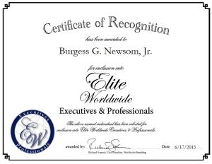 Burgess G. Newsom, Jr.